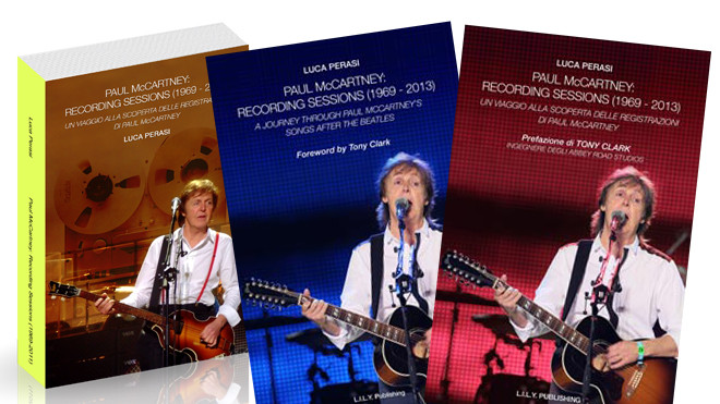 Paul Mccartney: Recording Sessions 1969-2013 | Copertine
