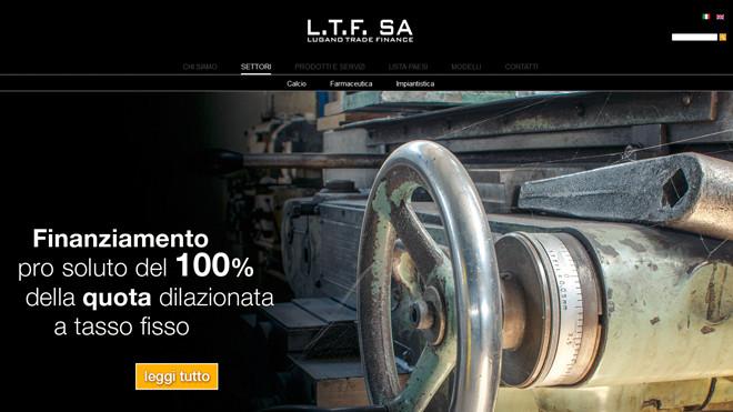 Lugano Trade Finance | Sito per società di servizi finanziari