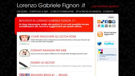 Lorenzogabrielefignon.it - sito Internet